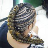 "AFRIK HAIR's Instagram photo_ ""#afrikhair #braids #marcamosestilo #trenzas #trenzasmedellin #braiding #cornrows #bananabraids #peinadosafro #peloafro #culturaafro…"""
